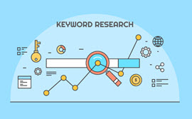 How do you conduct Search Engine Optimization (SEO) keyword research